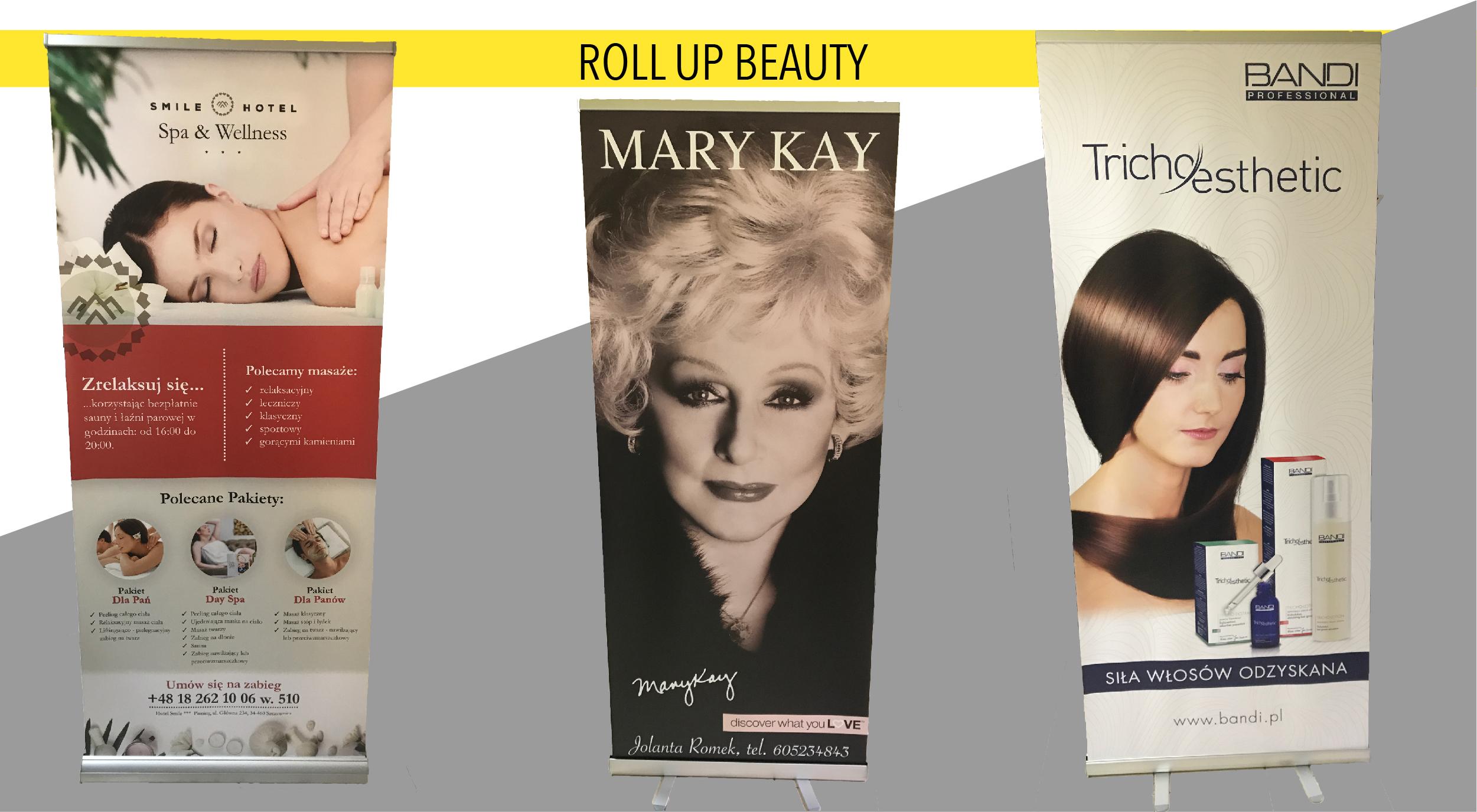 Roll up z logo - strefa beauty
