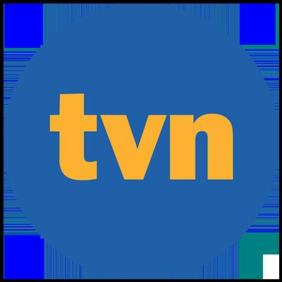 Realizacja ścianki reklamowej dla TVN w Warszawie