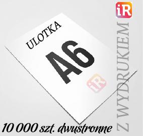 Ulotki Reklamowe A6 - 10 000 szt.