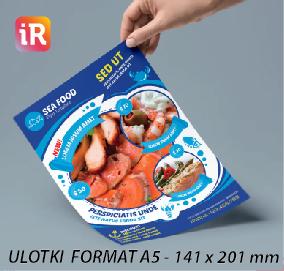 Ulotki Reklamowe A5 - 1000 szt.
