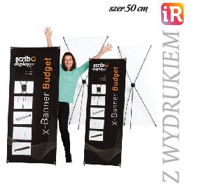 X Banner reklamowy Medium 50 x 150