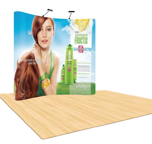 Ścianka reklamowa łukowa POP UP 3x2