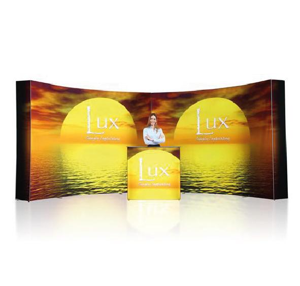 Ścianka reklamowa łukowa POP UP 3x6