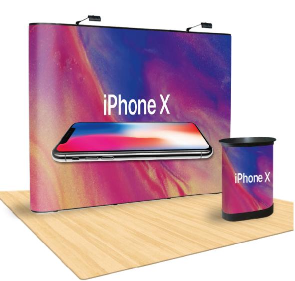 Ścianka reklamowa prosta POP UP 3x4