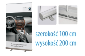 roll up 100 x 200 POLECAMY