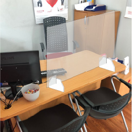 Ekran ochronny na biurko