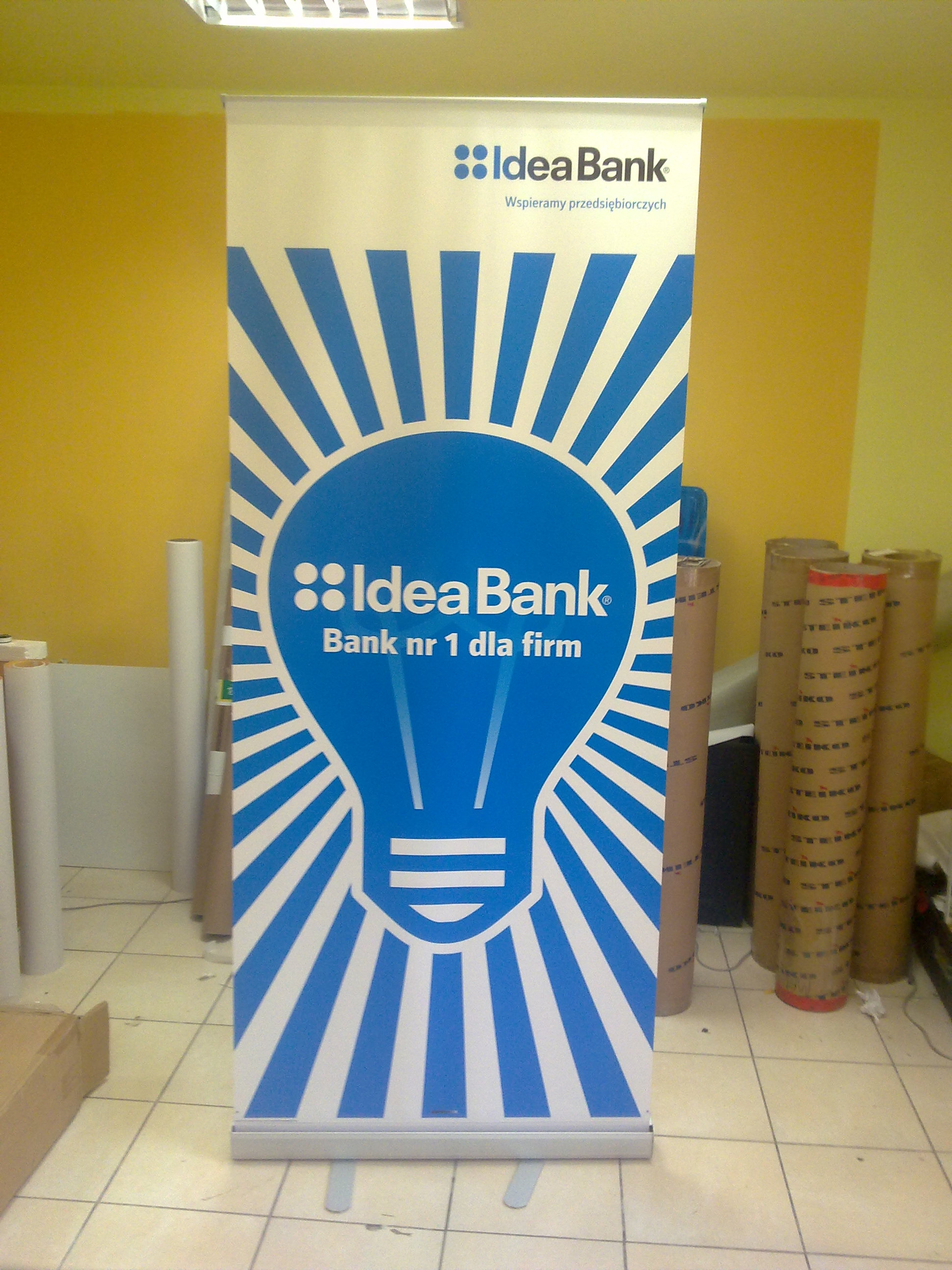 Roll up dla Idea Bank