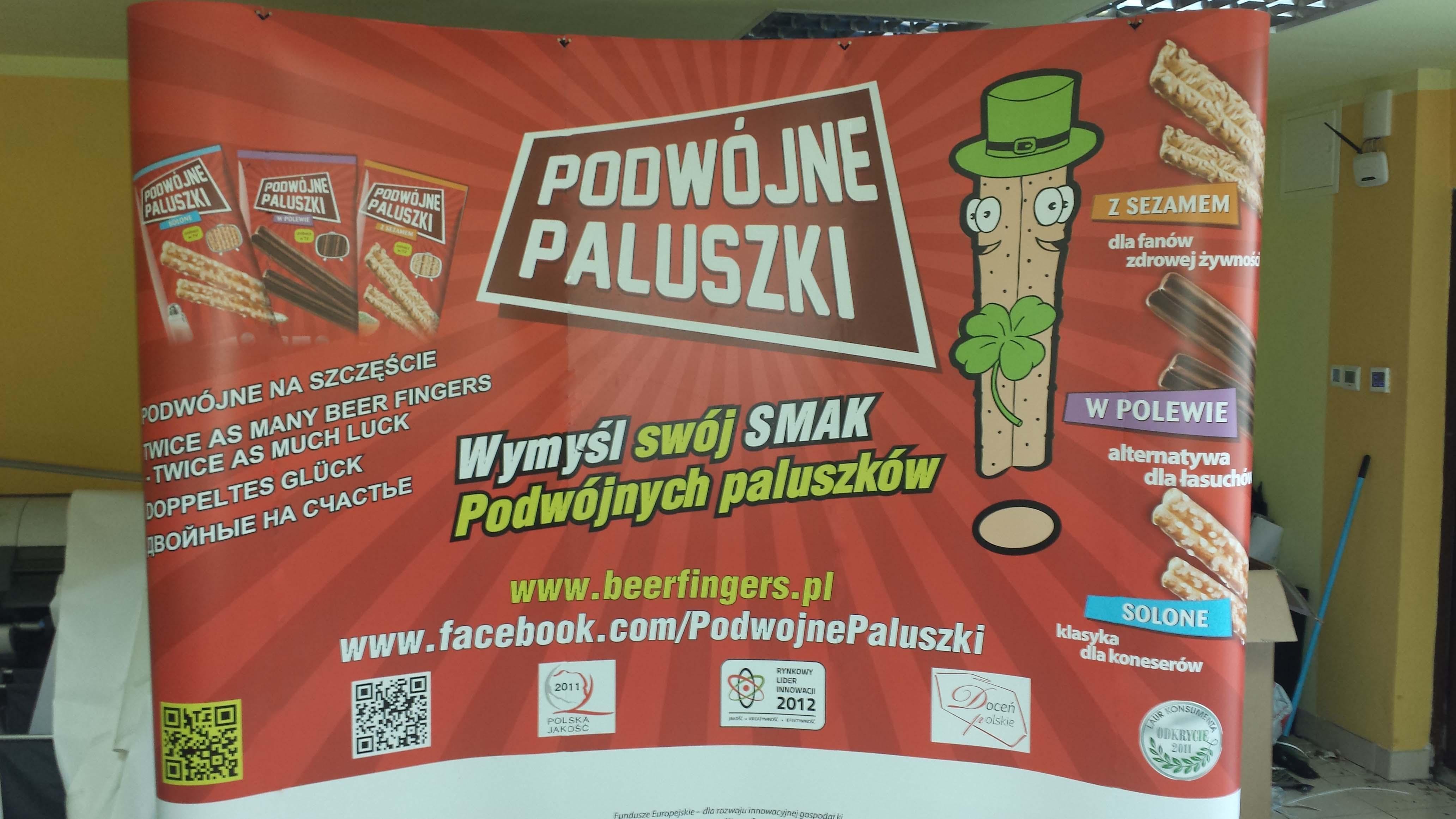 Ścianka reklamowa Warszawa